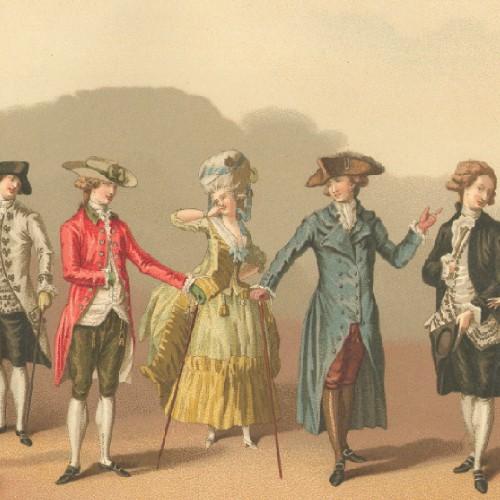 18th century jewelry and fashion