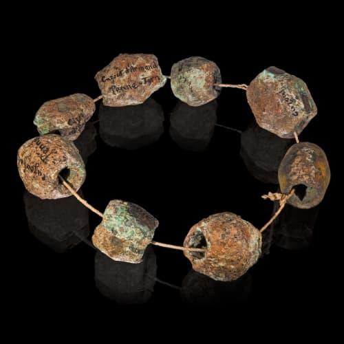 prehistoric jewelry making