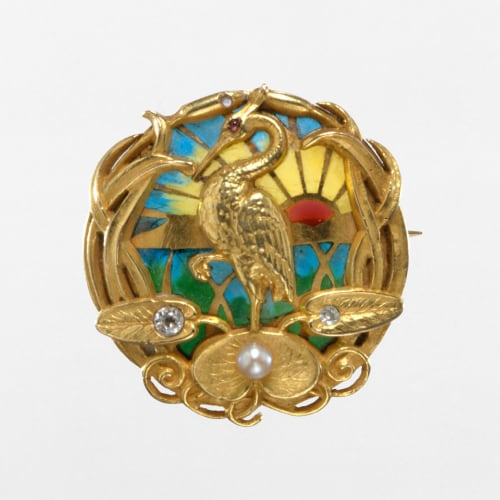 pique a jour jewelry making in the 19th century
