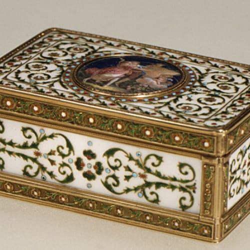 Adrien Vachette royal snuffbox