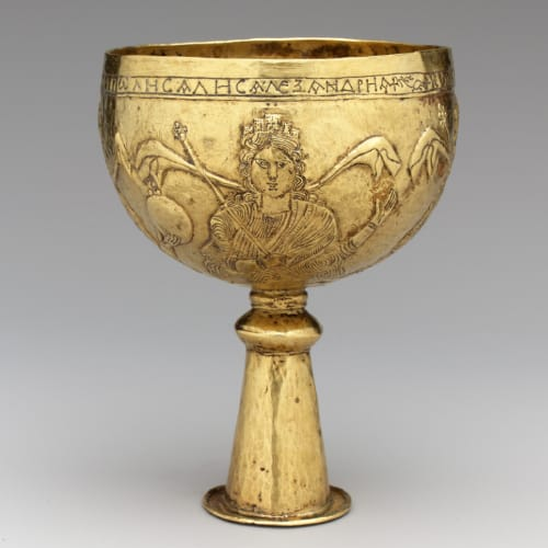 goldsmithing medieval cup