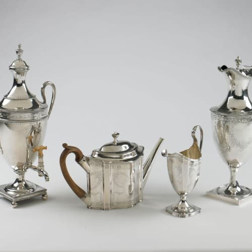 silversmithing serving items
