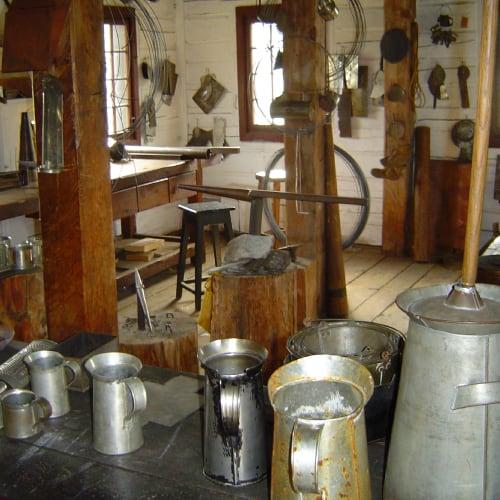 tinsmithing shop