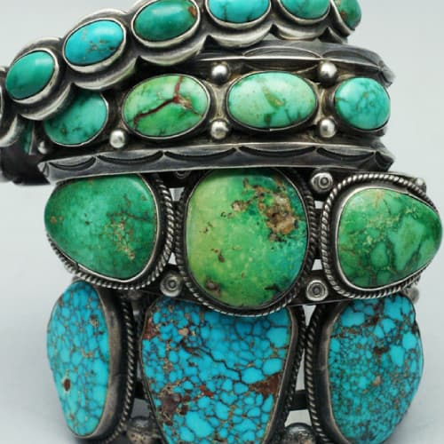 native american silver and turquoise