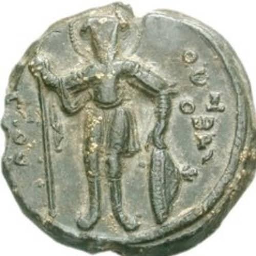 near east silver coin