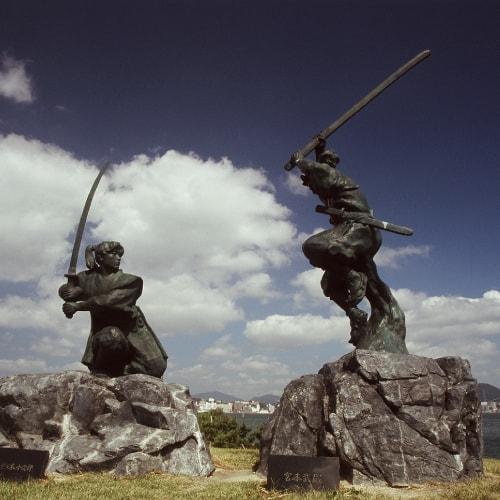 Sasaki Kojiro fighting