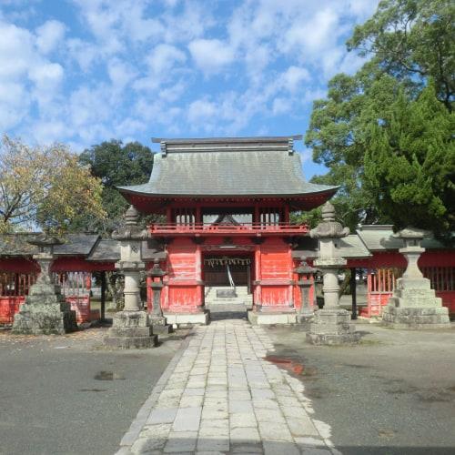Japanese shrine of Susanoo