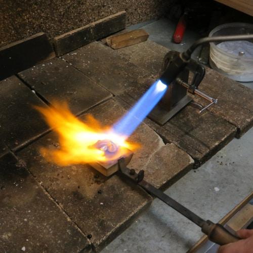 silversmithing flame