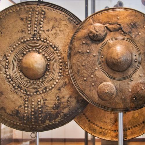 bronze age shields