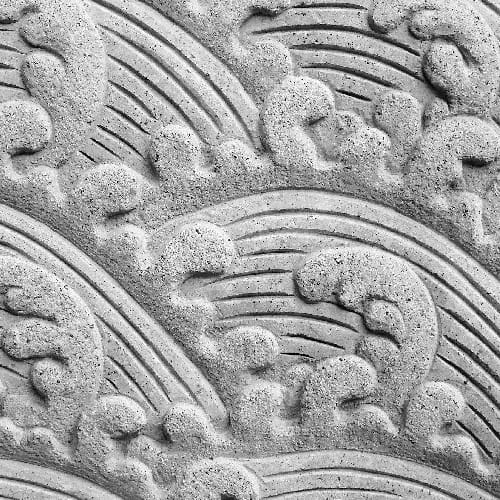 stone carving is detail-oriented