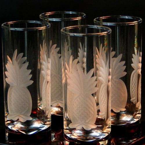 glass etching drinkware
