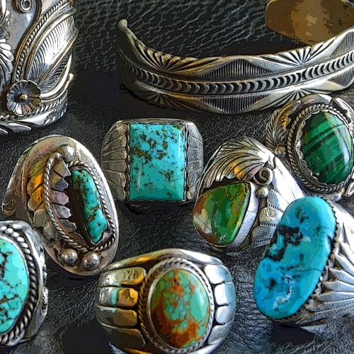 Native American silver