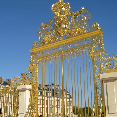 gold at Versailles